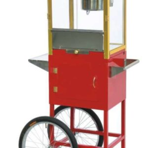 Pop Corn Machine with Trolley