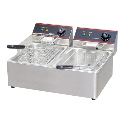 Industrial Deep double-fryer