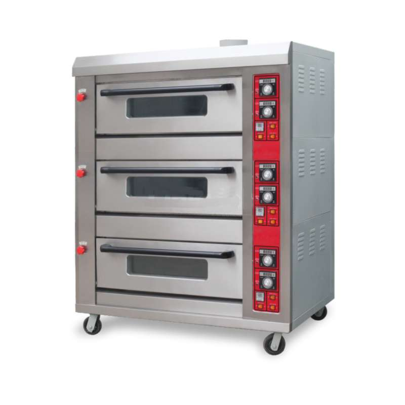 Industrial Kitchen Ovens For Sale: Buy Industrial Gas Deck Oven (3 Layers) At Best Price In