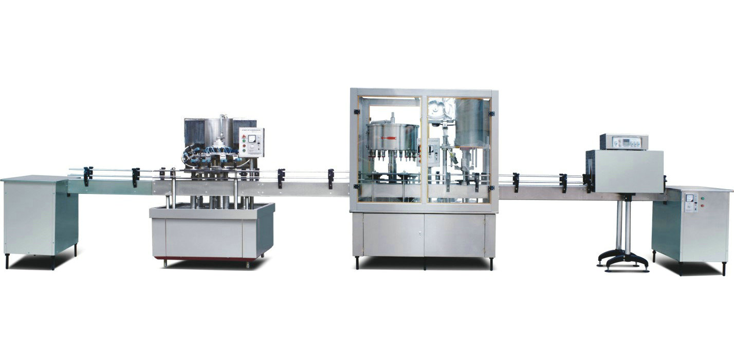 Bottle Water Washing Filling And Capping Machine Model
